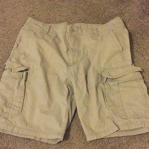 Old navy cargo shorts!